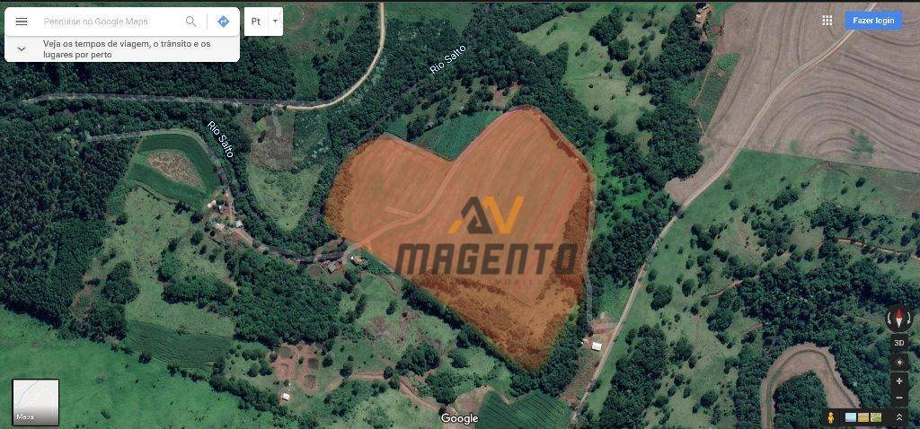 Área à venda, 104219 m² por R$ 580.000 - Rio Do Salto - Cascavel/PR