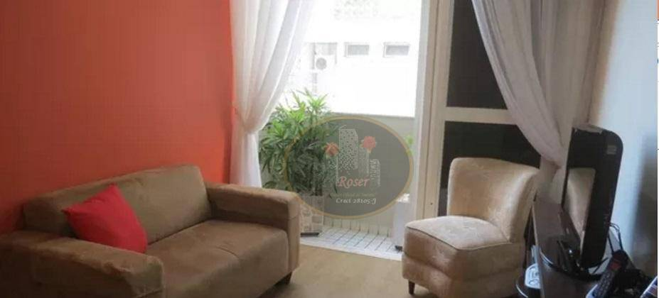 Loft para alugar, 69 m² por R$ 3.250,00/mês - Gonzaga - Santos/SP