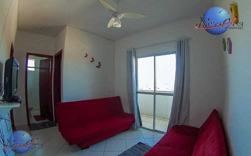 Apartamento 2 Dormitórios com Sacada, Mongaguá.