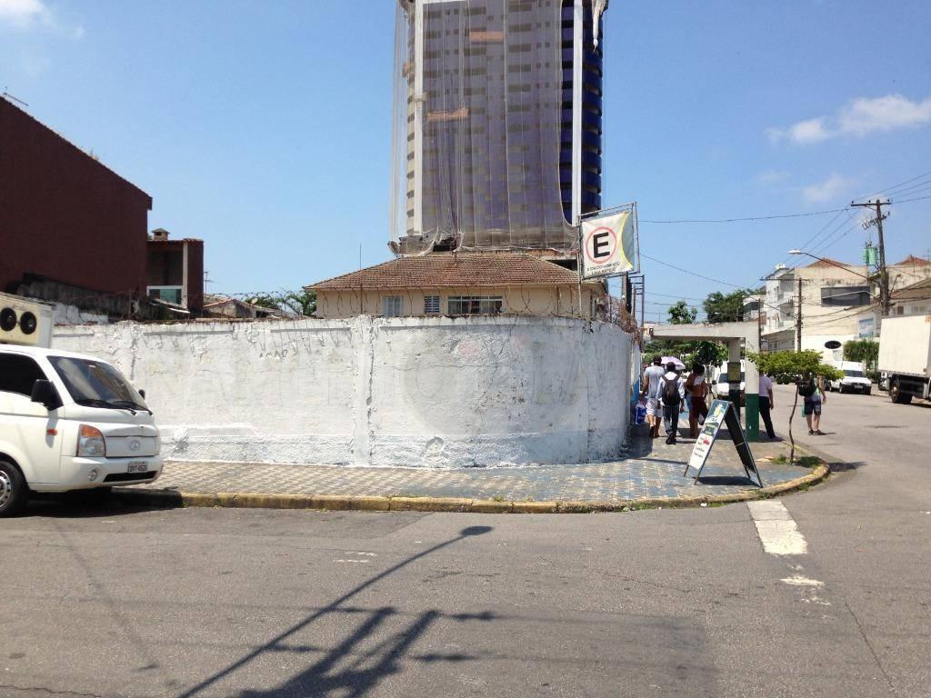 Terreno à venda, 670 m² por R$ 2.010.000,00 - Ponta da Praia - Santos/SP