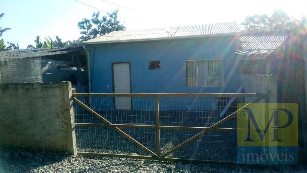 Casa com 2 dormitórios à venda, 56 m² por R$ 95.000,00 - Escalvados - Navegantes/SC