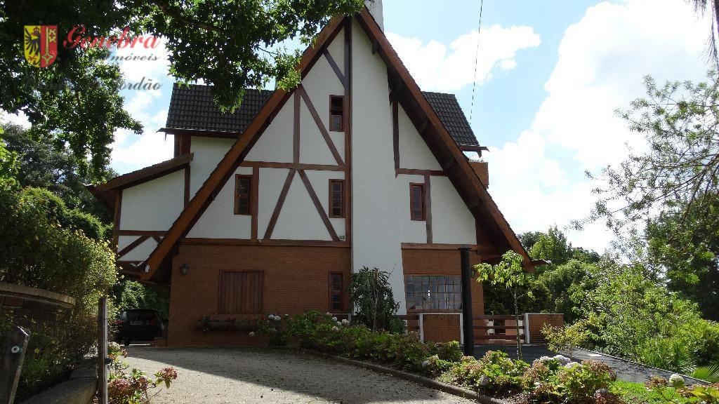 Casa residencial à venda, Jardim Manancial, Campos do Jordão.