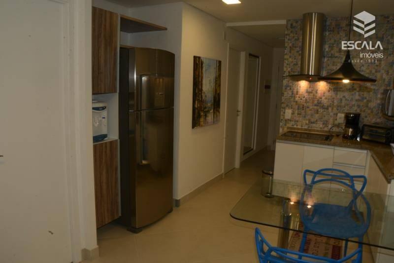 Apartamento para locação, 2 quartos, Mobiliado, Vista Mar, Meireles, Beira Mar