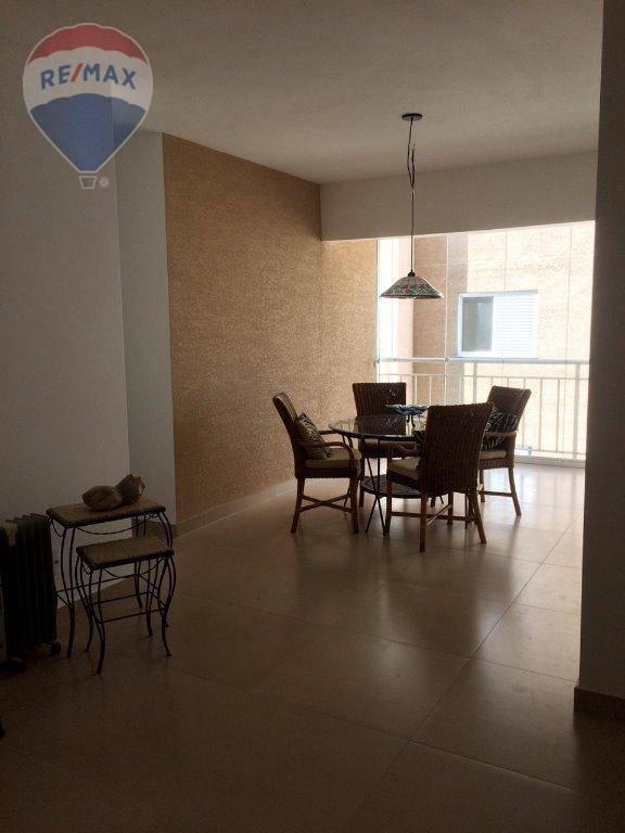 Apartamento com 3 dormitórios para alugar, 84 m² por R$ 2.200,00/mês - Jardim Floresta - Atibaia/SP
