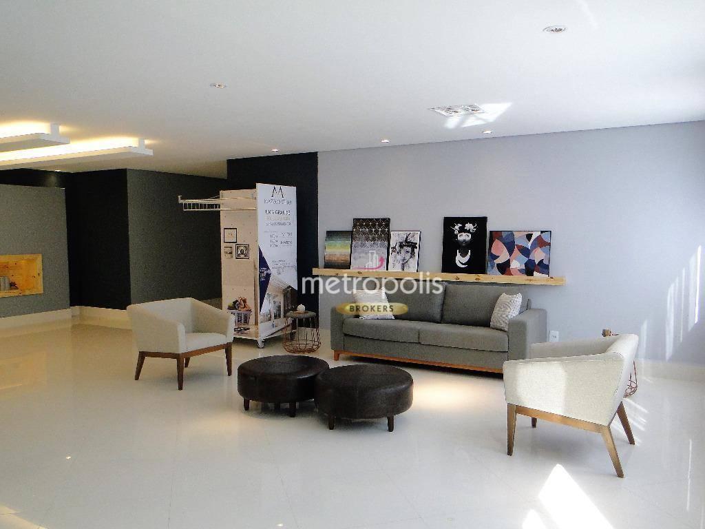 Studio com 2 dormitórios à venda, 54 m² por R$ 375.000 - Rudge Ramos - São Bernardo do Campo/SP