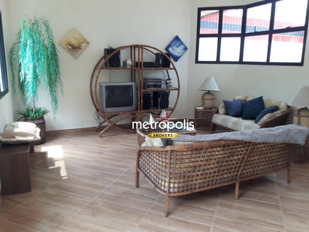 Cobertura com 3 dormitórios à venda, 170 m² por R$ 530.000 - Jardim Três Marias - Guarujá/SP