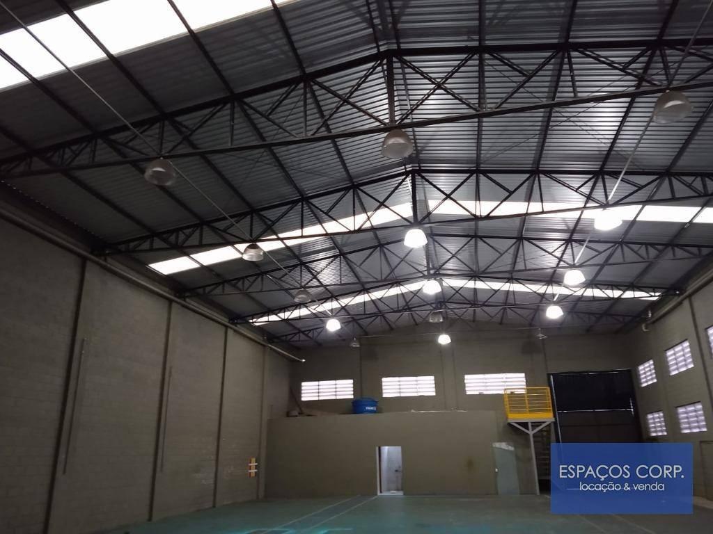 Galpão para alugar, 748m² por R$ 10.000/mês - Centro Empresarial Castelo Branco - Boituva/SP