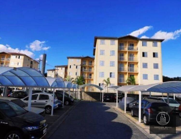Apartamento com 2 dormitórios à venda, 50 m² por R$ 200.000 - Condomínio Veredas dos Bandeirantes - Votorantim/SP