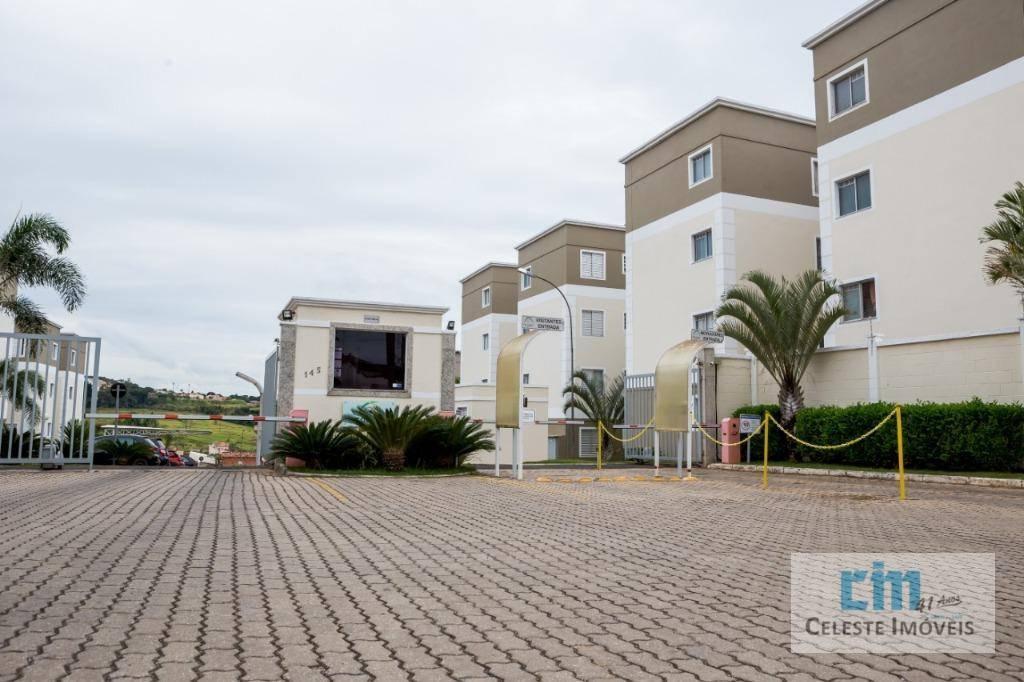 Apartamento com 2 dormitórios à venda, 50 m² por R$ 140.000,00 - Vila São Lázaro - Tatuí/SP