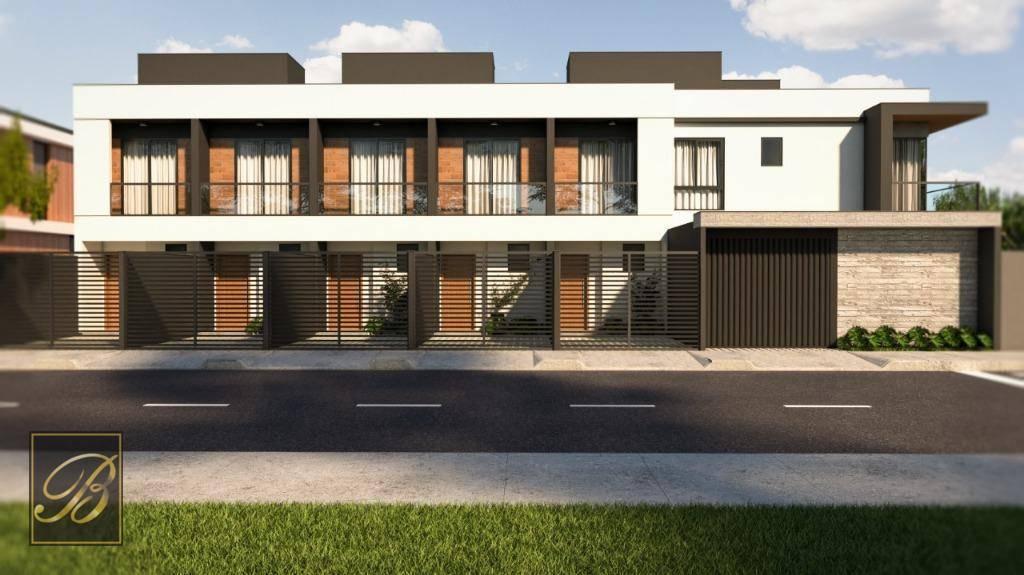 Sobrado com 3 dormitórios à venda, 107 m² por R$ 385.000 - Aventureiro - Joinville/SC