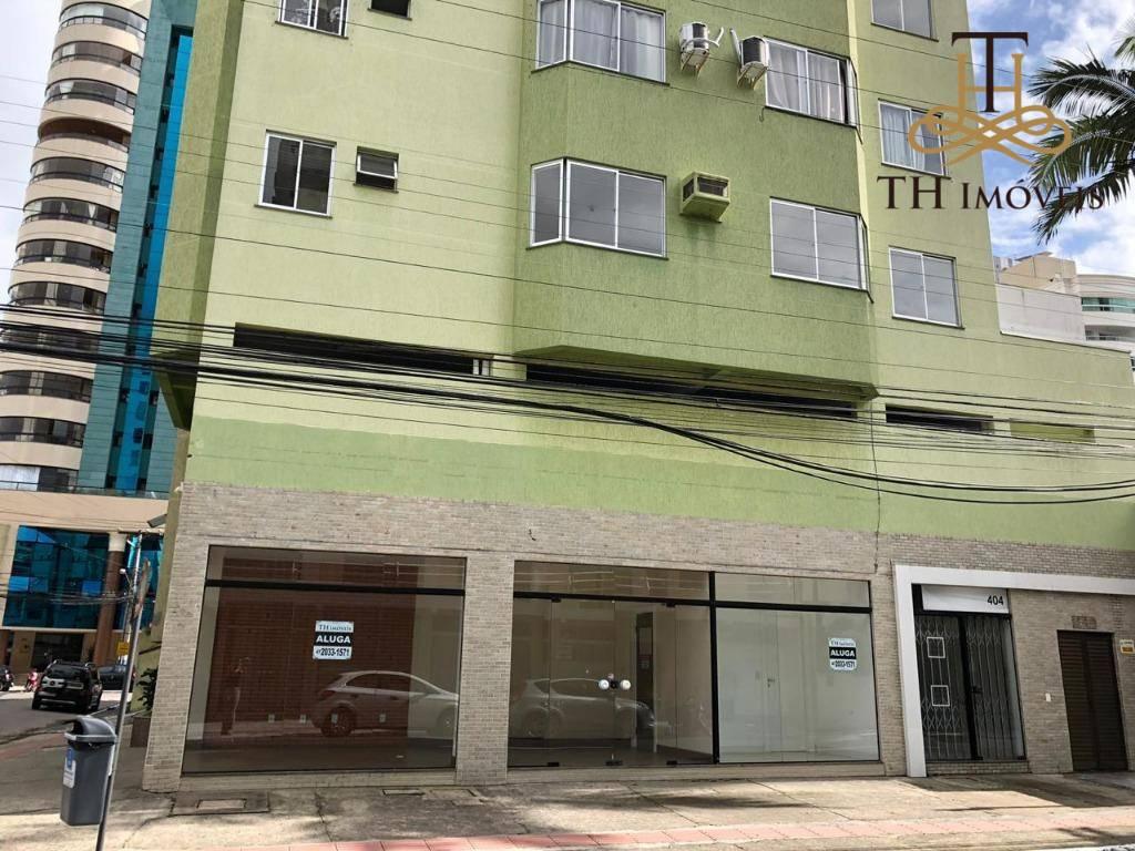 ALUGUEL SALA COMERCIAL TÉRREA DE 130 M², 4 AMBIENTES E 2 BANHEIROS - CENTRO DE BALNEÁRIO CAMBORIÚ - VALOR R$3.000,00 !!