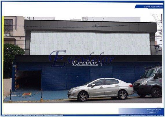 Galpão comercial para locação, Perdizes, São Paulo - GA0068.