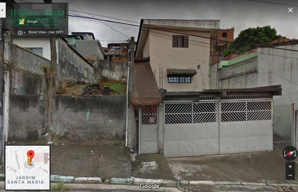 Terreno à venda, 250 m² por R$ 260.000 - Pimentas - Guarulhos/SP