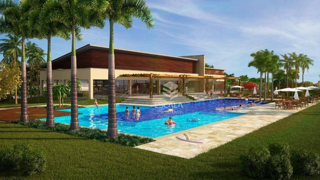 Lote à venda, 325 m² , Villa Reale, condomínio fechado, financia - Jucurutu - Aquiraz/CE