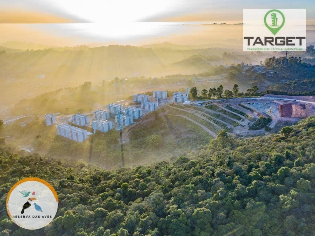 Apartamento com 2 dormitórios à venda, 48 m² por R$ 200.000 - Roselandia - Cotia/SP