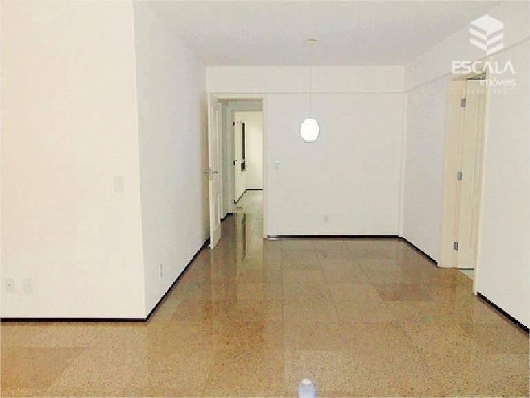 Apartamento com 3 quartos à venda, 127 m², 2 vagas, financia - Cocó