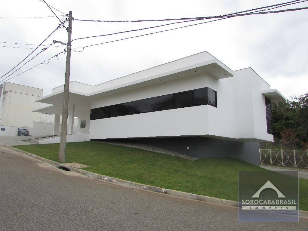 Casa com 3 dormitórios à venda, 360 m² por R$ 2.000.000 - Condomínio Belvedere II - Votorantim/SP, próximo ao Shopping Iguatemi.