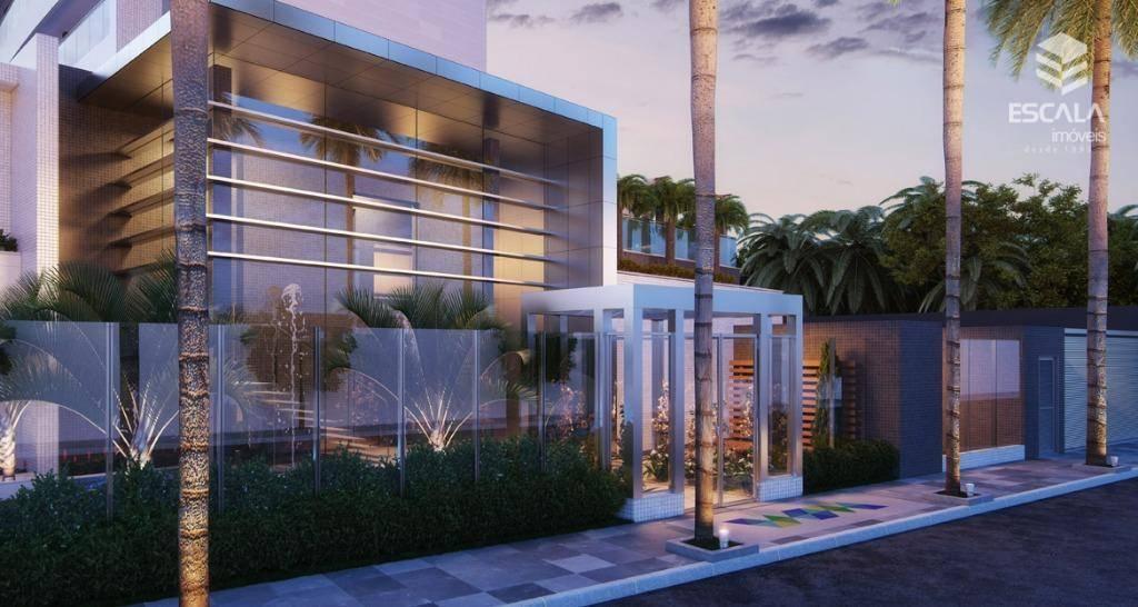 Apartamento com 3 quartos à venda, 86 m², novo, financia - Varjota - Fortaleza/CE
