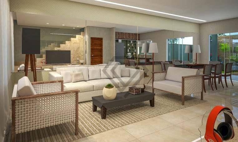 Sobrado 3 Suítes, 155 m² à venda no Condomínio House Caribe