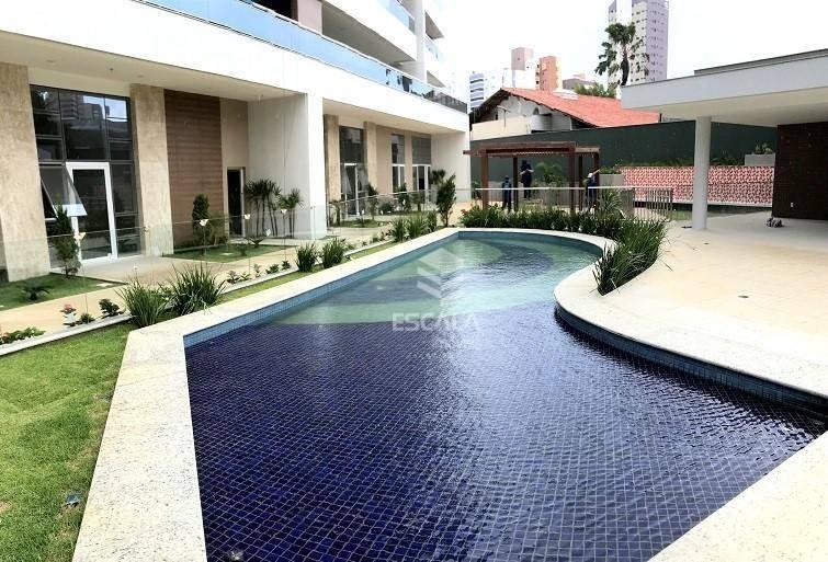 Apartamento com 4 quartos à venda, 204 m², 4 vagas, novo, área de lazer, financia - Aldeota - Fortaleza/CE