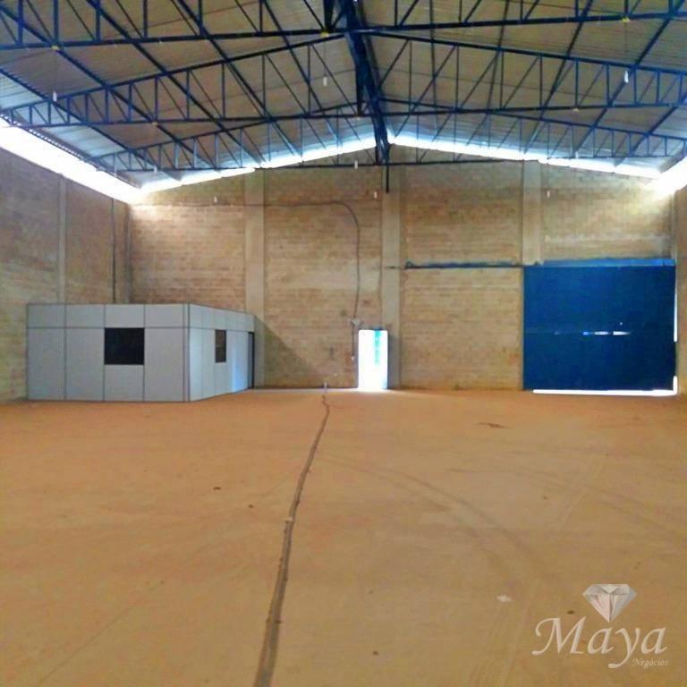 Escritório com Galpão, 1.500 m² na TO-050, próximo à Rodoviária