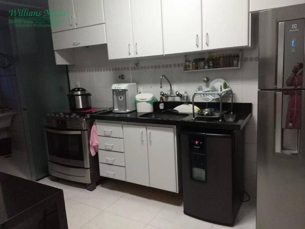 Apartamento com 3 dormitórios à venda, 90 m² por R$ 450.000 - Vila Augusta - Guarulhos/SP
