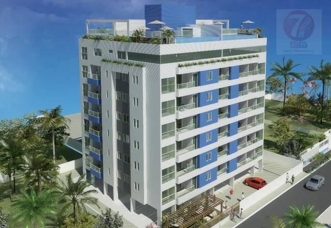 Apartamento residencial à venda, Camboinha II, Cabedelo - AP