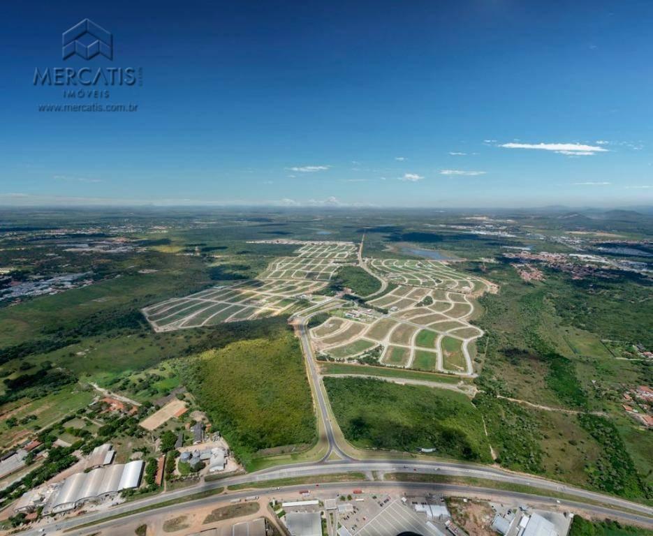 cidade alpha ceará | vista aérea