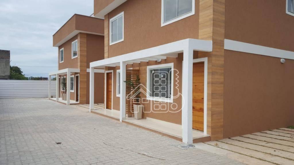 Casa com 2 dormitórios à venda, 86 m² por R$ 235.000,00 - Itaupuaçu - Maricá/RJ