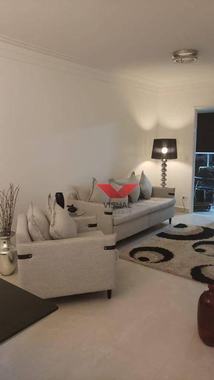 Apartamento com 3 dormitórios, seno todos suítes , Canto do Forte - Praia Grande/SP