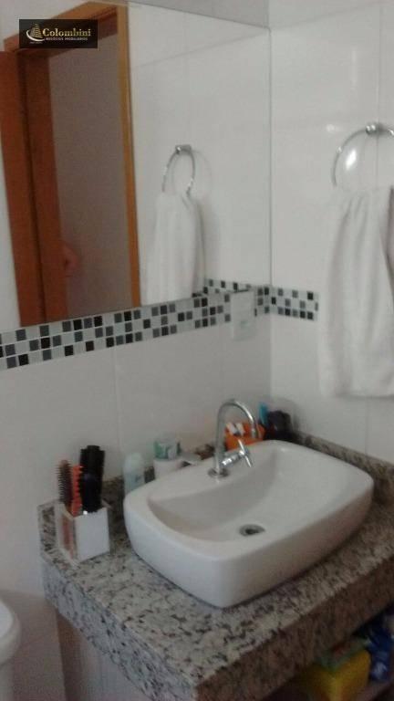 Sobrado residencial à venda, Campestre, Santo André.