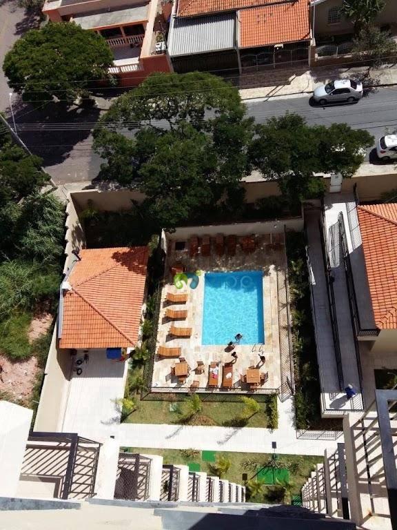 Apartamento com 2 dormitórios à venda, 48 m² por R$ 260.000,00 - Jardim Ermida I - Jundiaí/SP