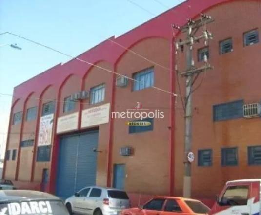 Galpão à venda, 3700 m² por R$ 9.900.000 - Cerâmica - São Caetano do Sul/SP
