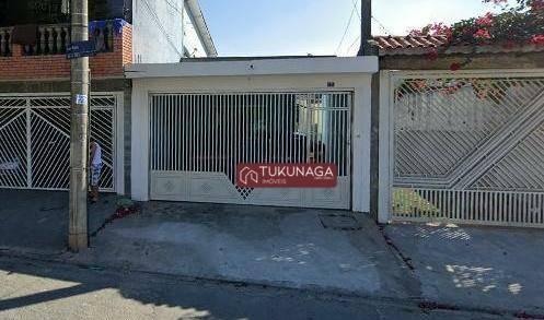 Casa com 2 dormitórios para alugar, 118 m² por R$ 2.000,00/mês - Parque Flamengo - Guarulhos/SP