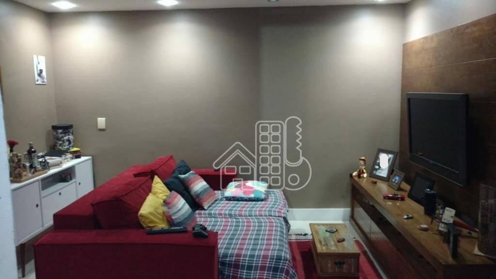 Apartamento Duplex com 2 dormitórios à venda, 77 m² por R$ 220.000,00 - Maria Paula - São Gonçalo/RJ