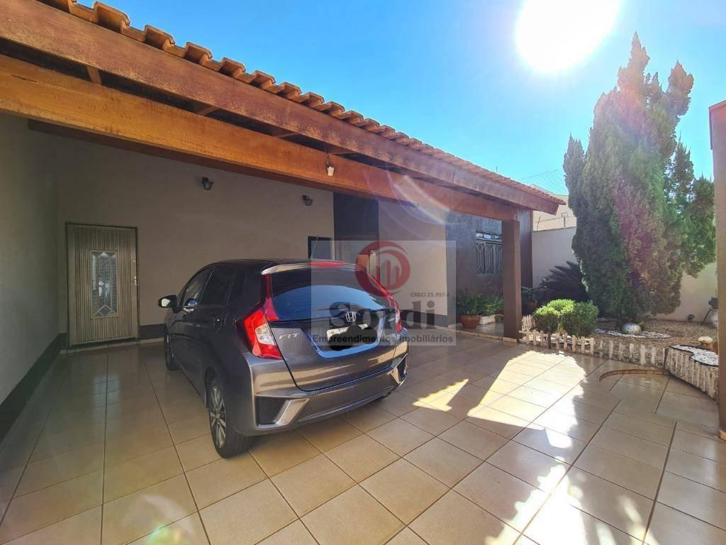 Casa com 3 dormitórios à venda, 174 m² por R$ 610.000,00 - Residencial e Comercial Palmares - Ribeirão Preto/SP