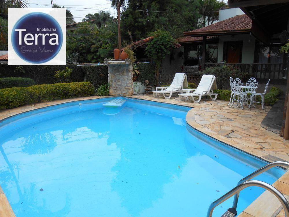 Casa  residencial à venda, Fazendinha, Granja Viana.