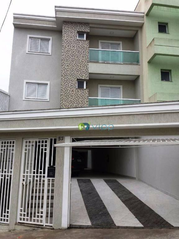 Venda - Apartamento 2 dormitórios-Parque das Nações Santo André-Sem condomínio
