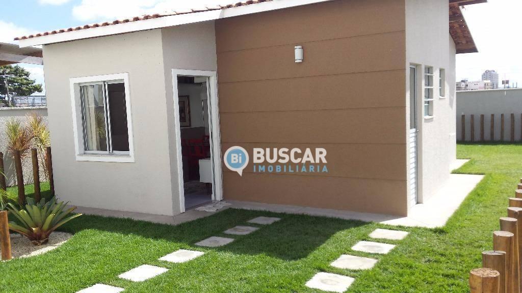 Casa à venda, 37 m² por R$ 138.054,00 - Sim - Feira de Santana/BA