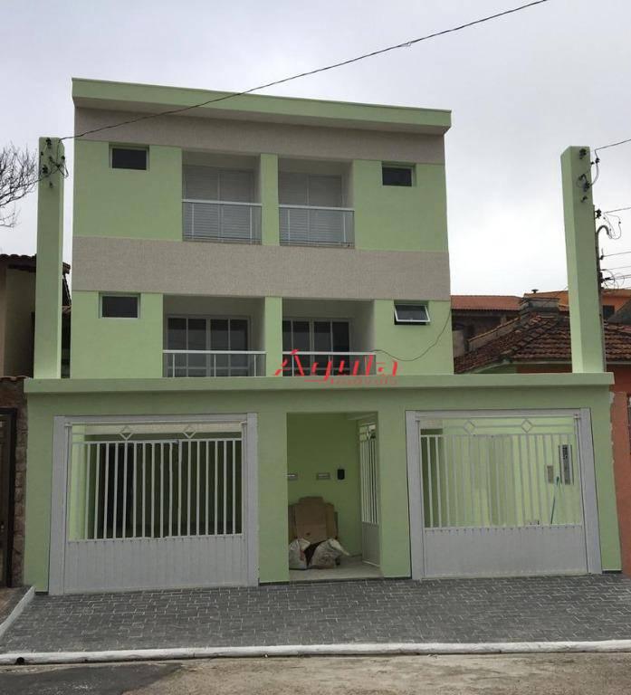 Sobrado com 2 dormitórios à venda, 152 m² por R$ 535.000 - Vila Lucinda - Santo André/SP