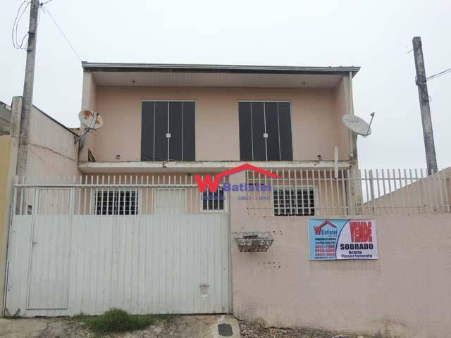 Sobrado com 4 dormitórios à venda, 140 m² por R$ 199.000 - Rua Pirai do Sul, 138 - Vila São José - Colombo/PR