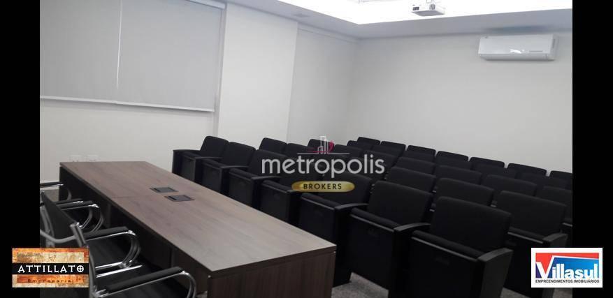 Sala à venda, 93 m² por R$ 795.000 - Vila Bastos - Santo André/SP