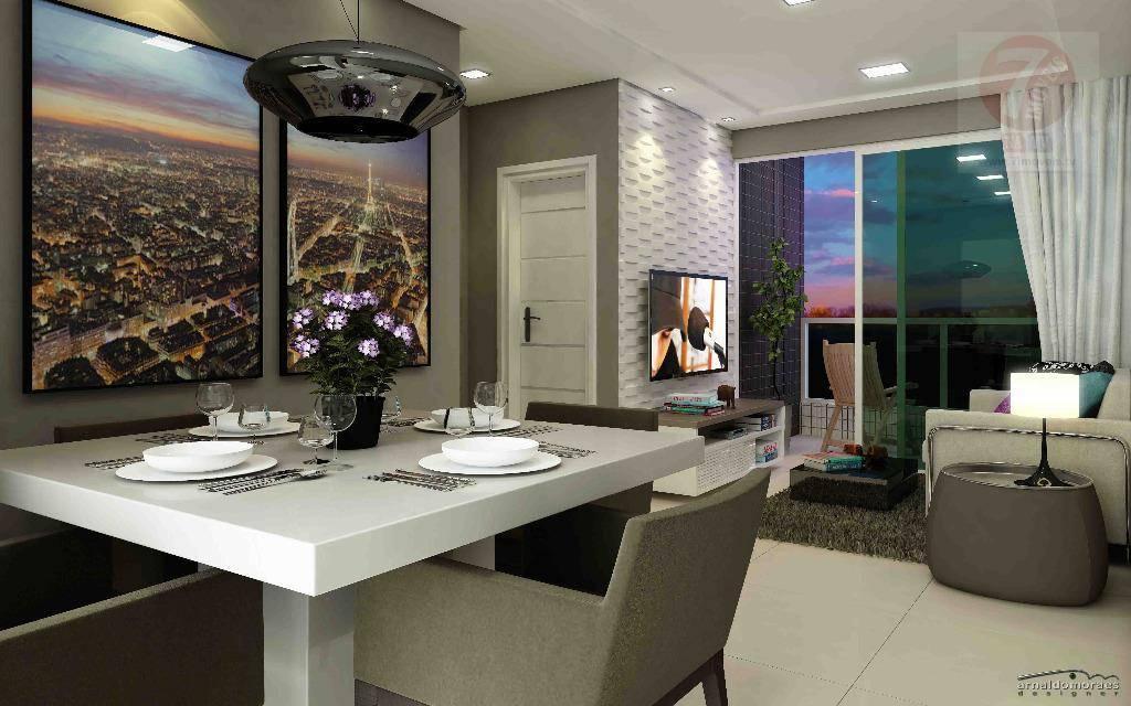 Apartamento residencial à venda, Intermares, Cabedelo - AP00