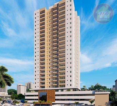 Apartamento à venda, 73 m² por R$ 494.302,92 - Vila Alzira - Guarujá/SP