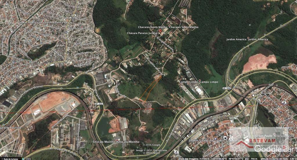 Área comercial à venda, Chácaras Santa Martha, Várzea Paulista.
