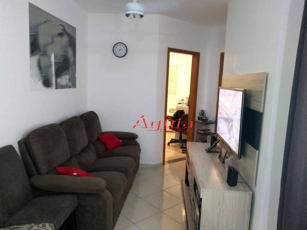 Cobertura com 2 dormitórios à venda, 50 m² por R$ 320.000 - Parque Erasmo Assunção - Santo André/SP
