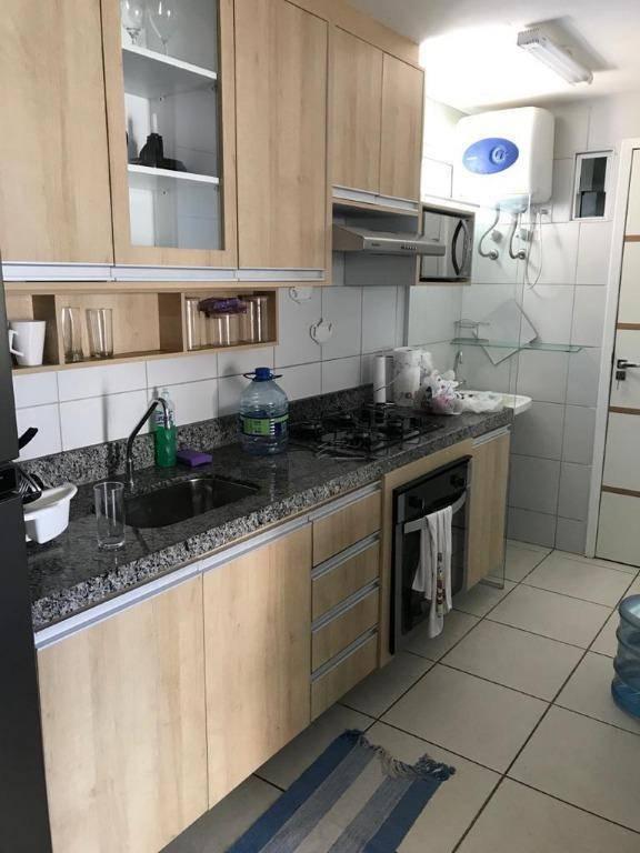 Apartamento com 2 dormitórios para alugar, 72 m² por R$ 300/dia - Praia de Iracema - Fortaleza/CE