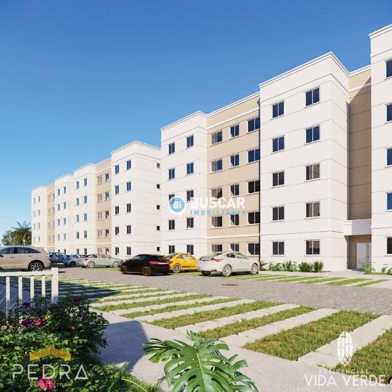 Apartamento à venda, 42 m² por R$ 104.900,00 - Mangabeira - Feira de Santana/BA