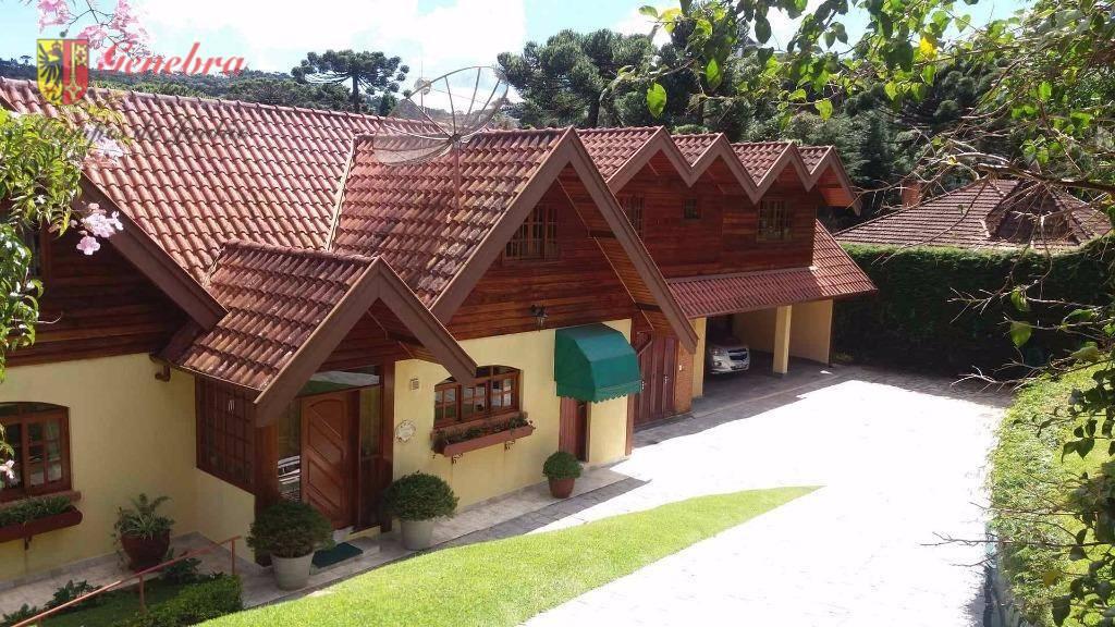 Casa residencial à venda, Vila Medica, Campos do Jordão.