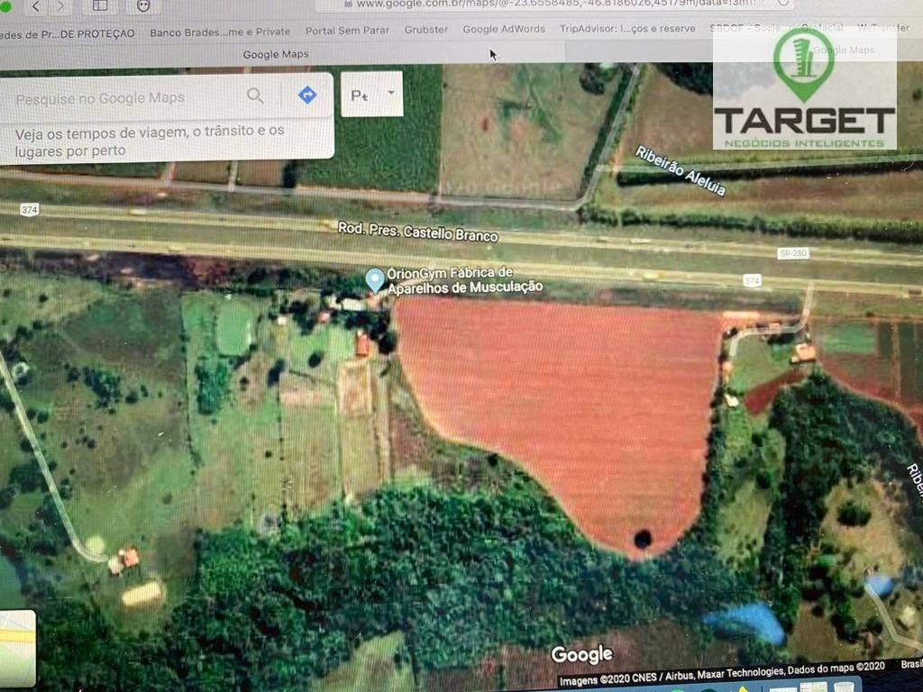 Área à venda, 149556 m² por R$ 6.800.000,00 - Guarapó - Tatuí/SP